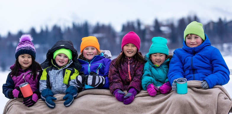 Group of Kids with Hot Cocoa
